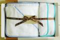 バイアス無撚糸タオルギフト