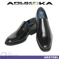 ARUKOKA AK876 ブラック ローファー AK876BL