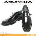 ARUKOKA AK882 ブラック モンクストラップ AK882BL