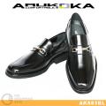 ARUKOKA AK883 ブラック ビットローファー AK883BL