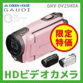 【送料無料】グリーンハウス(Green House) GAUDI HDビデオカメラ GHV-DV25HDA 乾電池ビデオカメラ