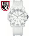 (送料無料) ルミノックス LUMINOX ネイビーシールズ ホワイトアウト 3057 アナログ腕時計 3057WO 白