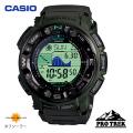 (送料無料) カシオ(CASIO) プロトレック(PROTREK) デジタル腕時計 タフソーラー 迷彩柄ベルト PRG-250B-3