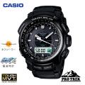 (送料無料) カシオ(CASIO) プロトレック(PROTREK) アナログ腕時計 電波時計 タフソーラー トリプルセンサー PRW-5100-1