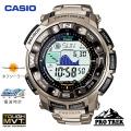 (送料無料) カシオ(CASIO) プロトレック(PROTREK) デジタル腕時計 電波時計 タフソーラー トリプルセンサー PRW-2500T-7