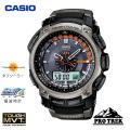 カシオ(CASIO) プロトレック(PROTREK) アナログ腕時計 電波時計 タフソーラー