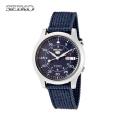 セイコー(SEIKO) セイコー5 ミリタリー アナログ腕時計 SNK807K2 自動巻き腕時計 ブルー