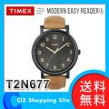 時計 腕時計 (送料無料) TIMEX モダンイージーリーダー 腕時計 メンズ T2N677