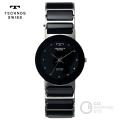 (送料無料) テクノス(TECHNOS) クォーツ腕時計 TBM674TB アナログ腕時計 セラミック ラウンド メンズ