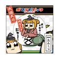 おみくじ付き54mm缶バッチ 戦国シリーズ/明智光秀「ポプテピピック」