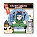 おみくじ付き54mm缶バッチ 戦国シリーズ/織田信長「ポプテピピック」