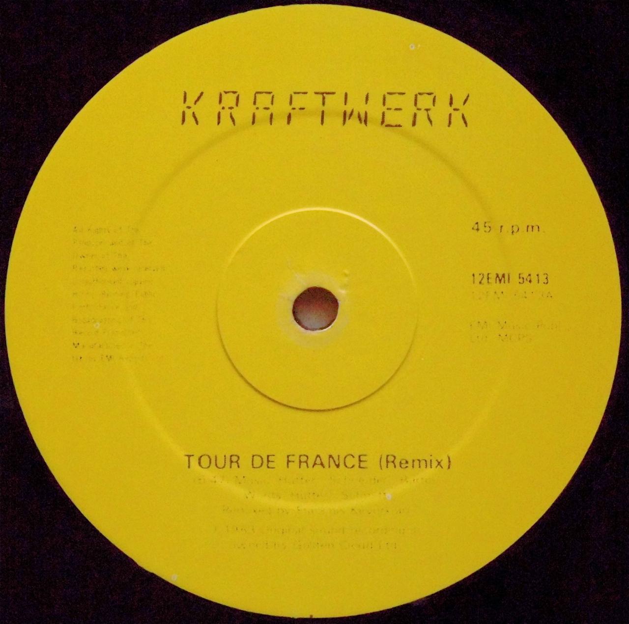 Kraftwerk - tour de france (francois kevorkian mix)