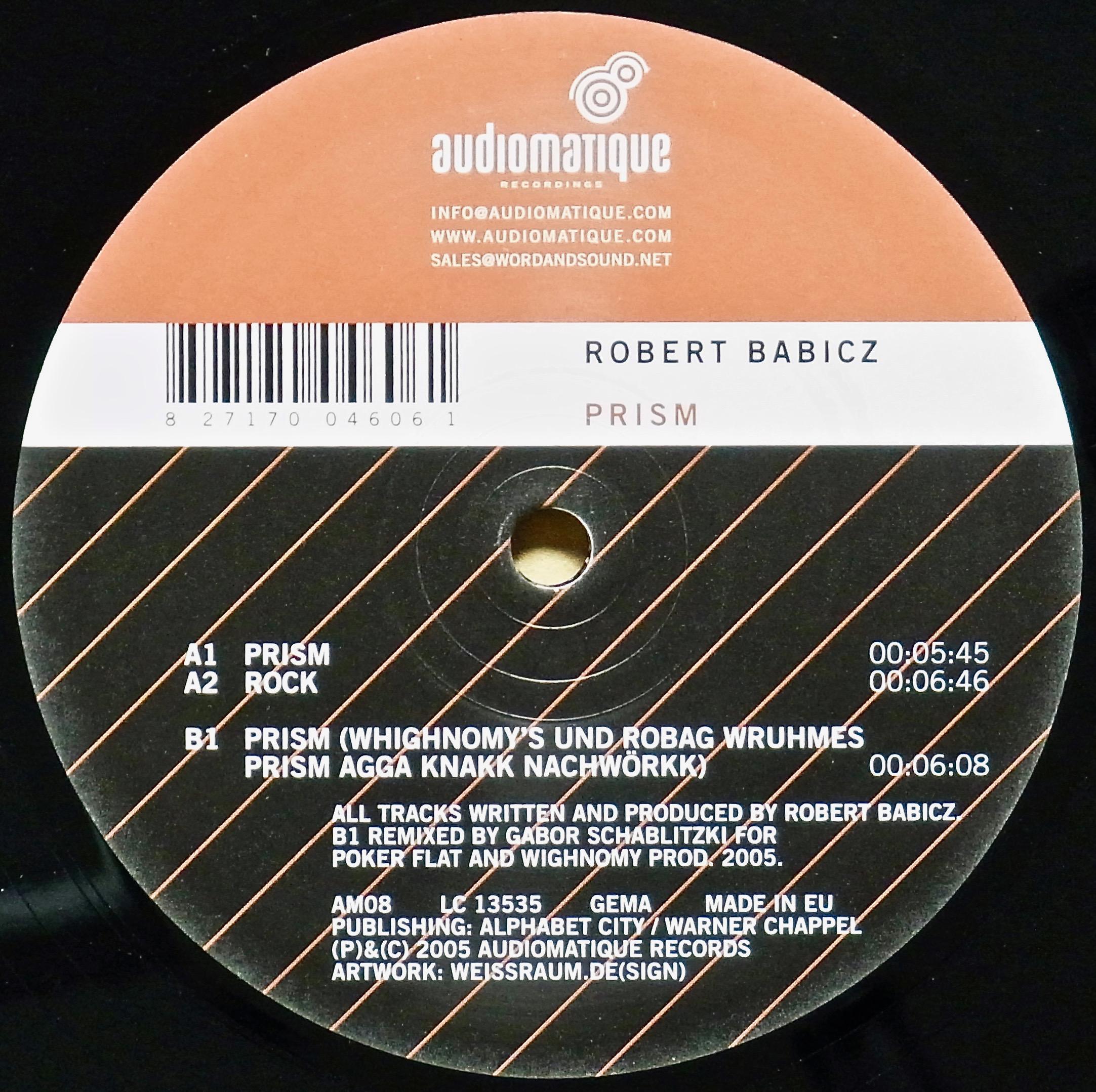 ROBERT BABICZ / Prism