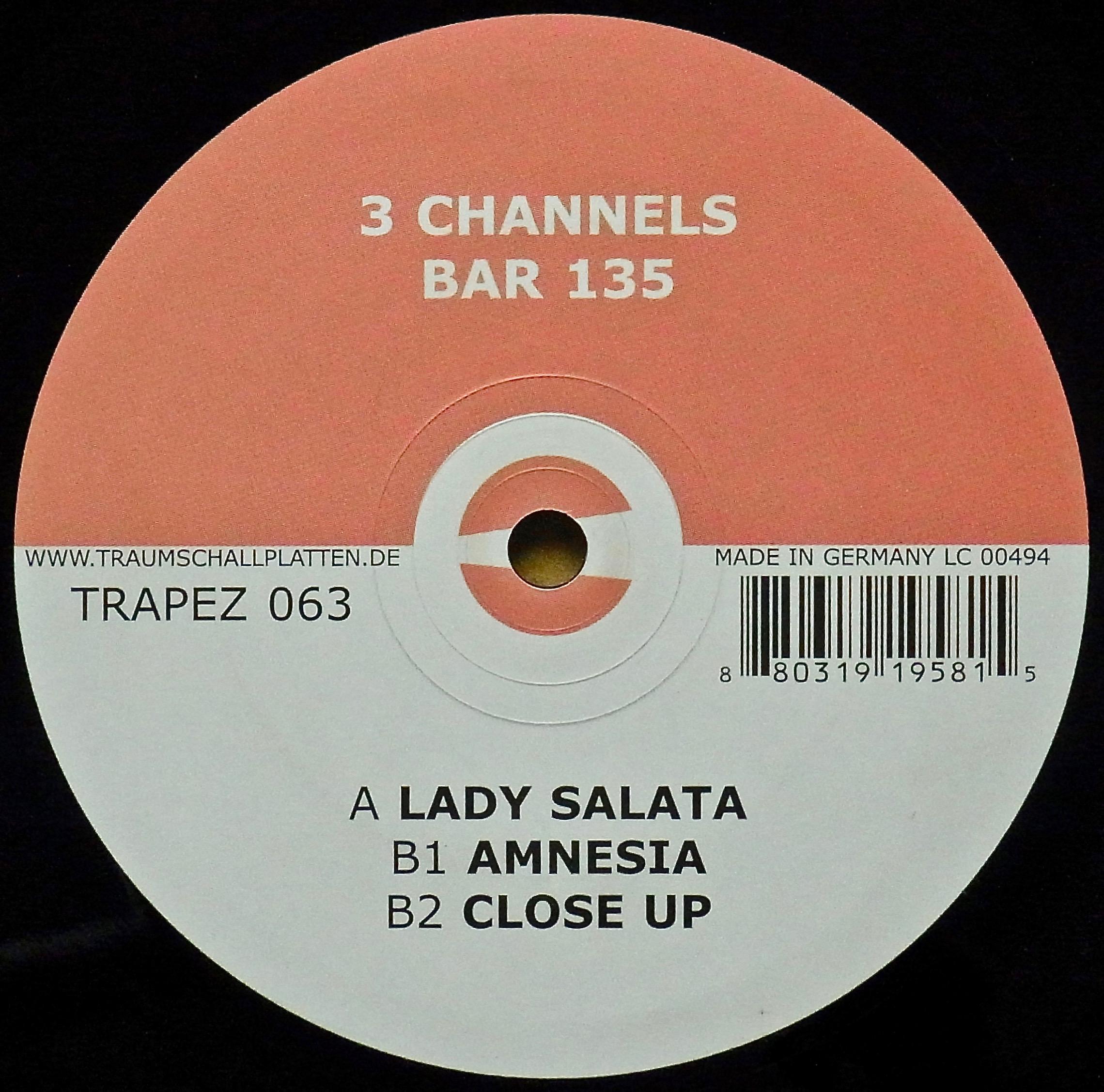 3 CHANNELS / Bar 135
