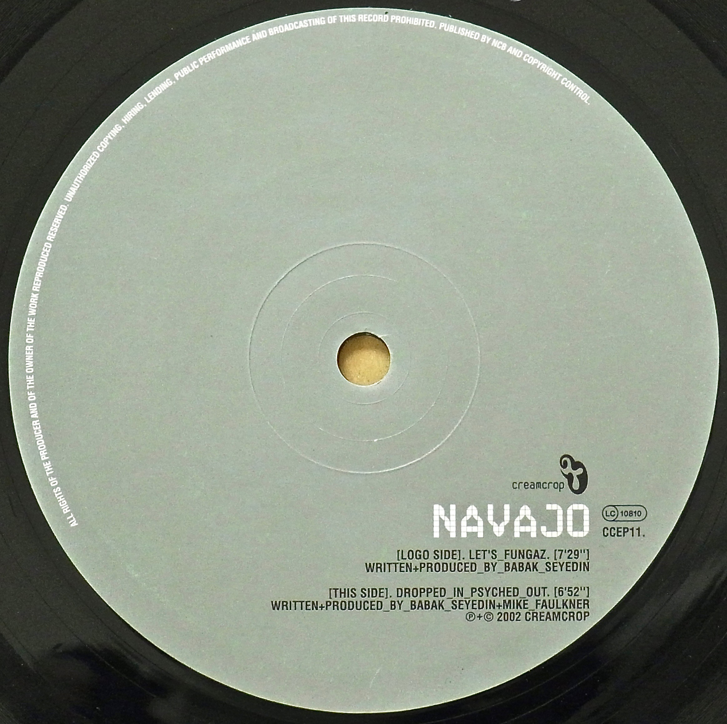 NAVAJO / Let's Fungaz ・ Dropped In Psyched Out