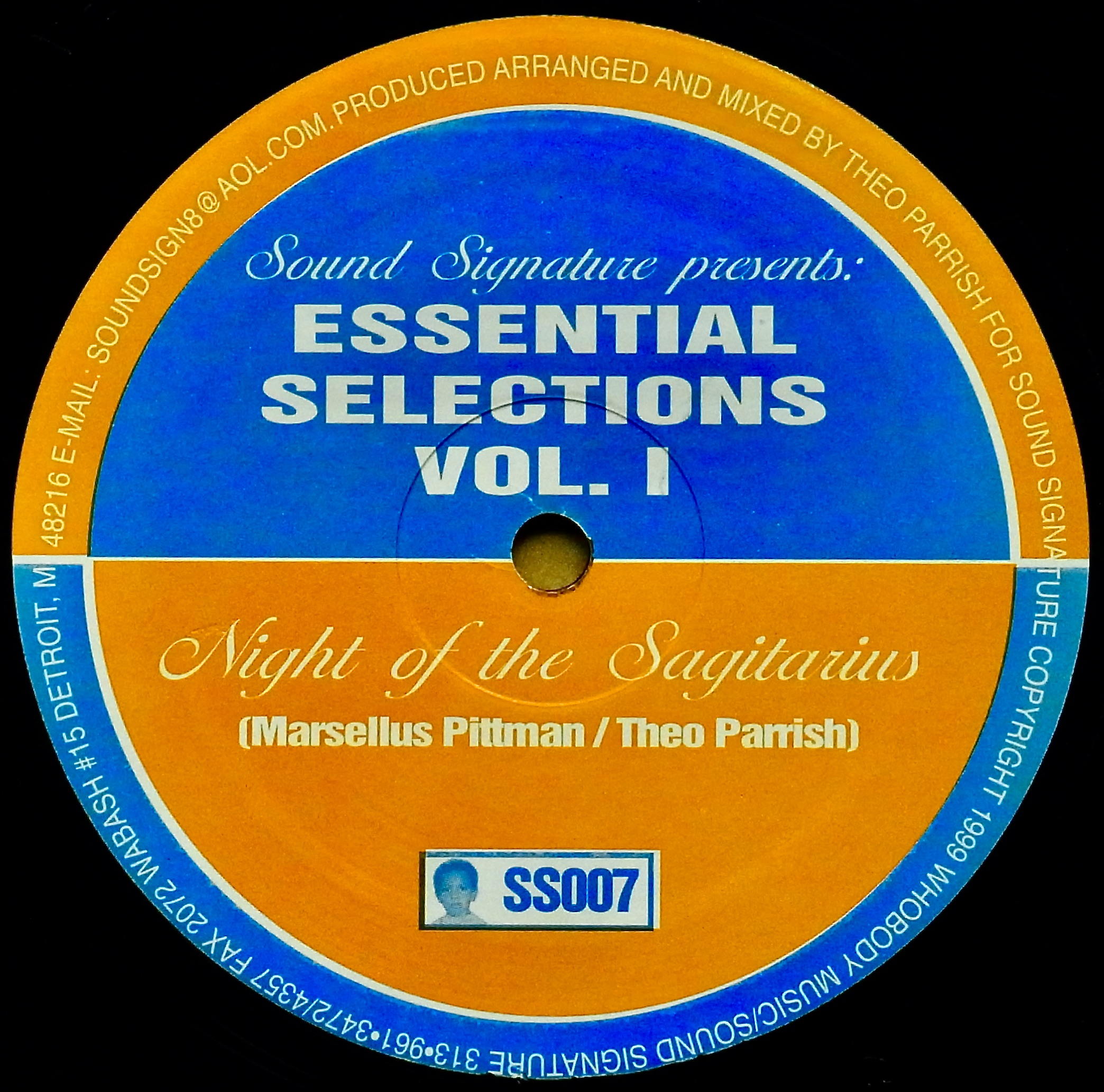 MARSELLUS PITTMAN ・ THEO PARRISH / Essential Selections Vol. 1
