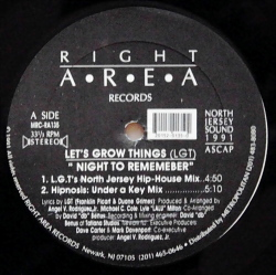 LET'S GROWN THINGS / Night To Rememeber