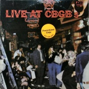 V.A. / Live At CBGB's - The Home Of Underground Rock