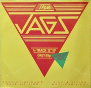 "THE JAGS / 4 - Track 12"" E.P."