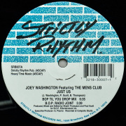 JOEY WASHINGTON Featuring THE MENS CLUB / Just Us