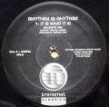 RHYTHIM IS RHYTHIM / It Is What It Is