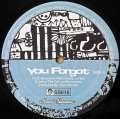 THEO PARRISH / You Forgot ・ Dirt Rhodes