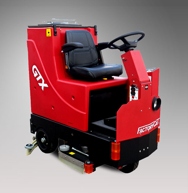 搭乗式自動床洗浄機D777XRB商品写真