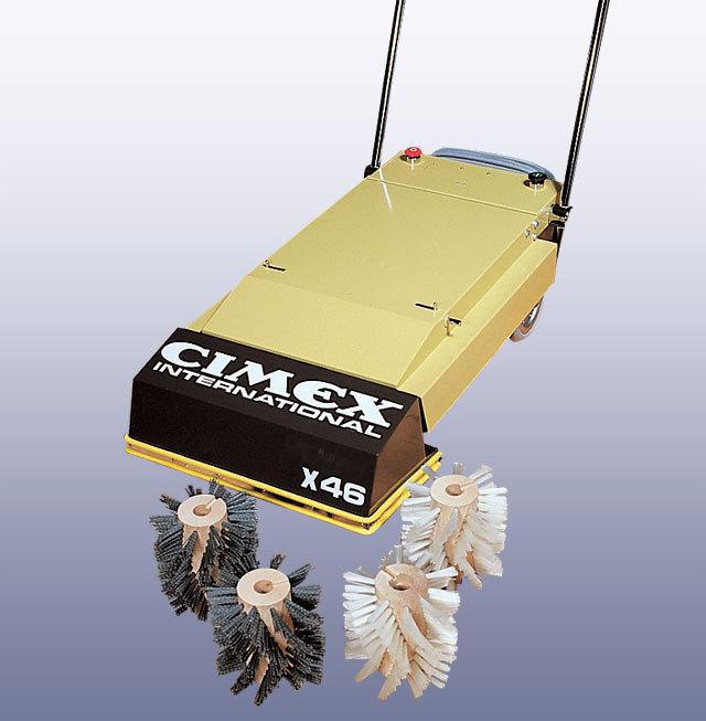 エスカレーター自動清掃機X46画像