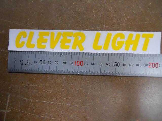 CLEVERLIGHT ステッカー