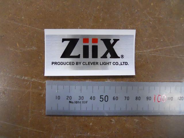 ZiiX ステッカー