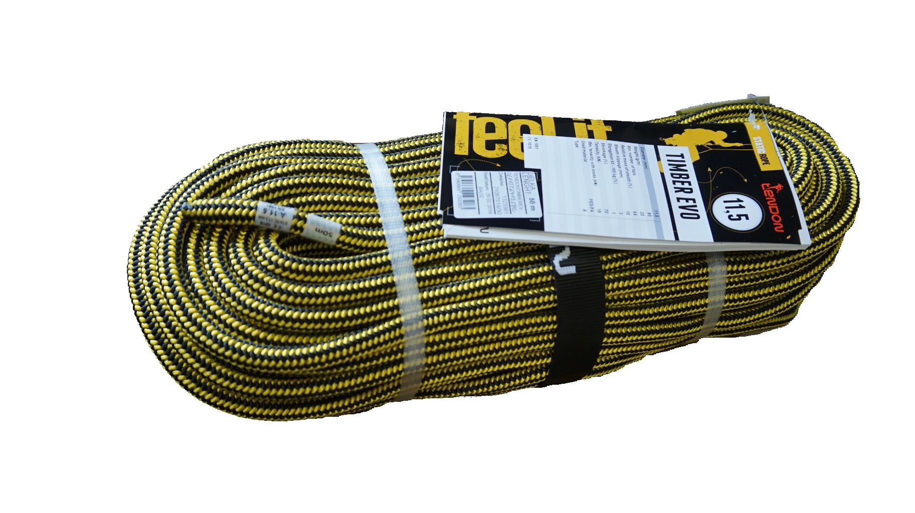 テンドン ツリー用クライミングロープ EVO 11.5mm 50m