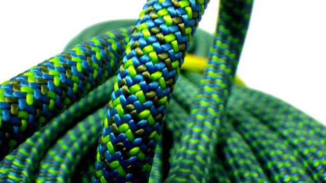 テンドン クライミングロープ マスター 9.4mm 50m ブルー コンプリートシールド加工