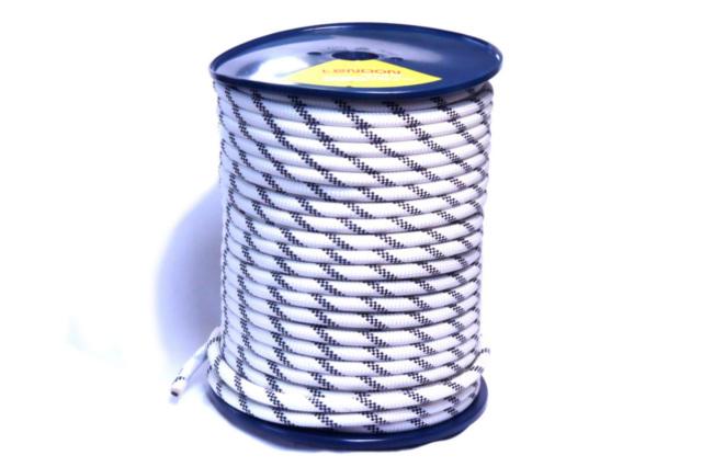 セミスタティックロープ 11mm100m テンドン ホワイトEN1891 【ロープアクセス・IRATA基準・高所作業用】