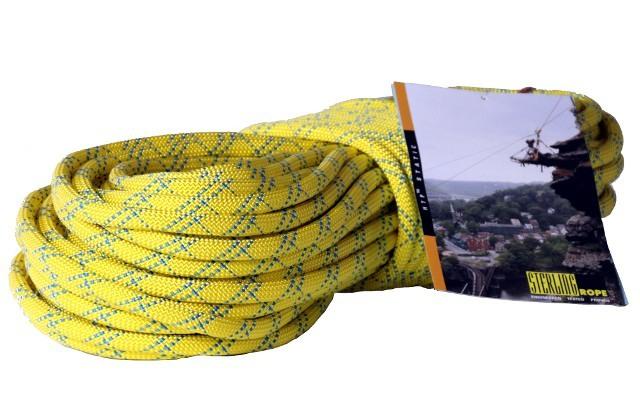 HTPスタティックロープ 12.5mm 50m スターリン イエロー