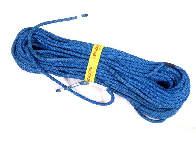 テンドン クライミングロープ アンビション 10.0mm 60m ブルー コンプリートシールド加工