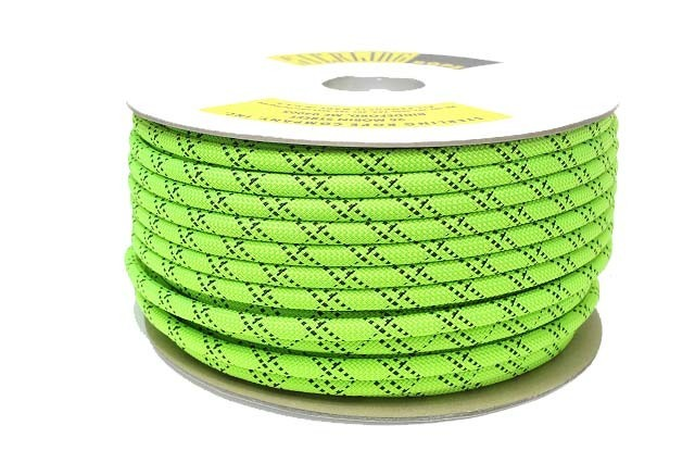 HTPスタティックロープ 12.5mm 100m スターリン ネオングリーン