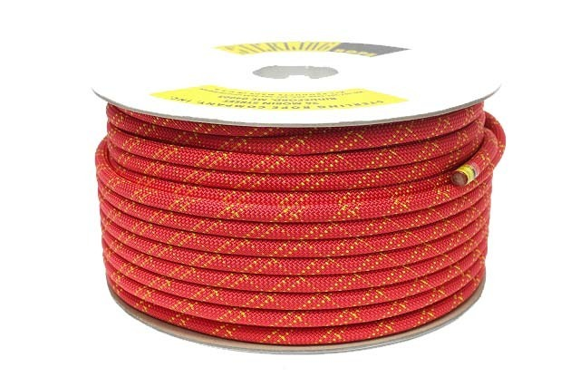 HTPスタティックロープ 12.5mm 100m スターリン レッド