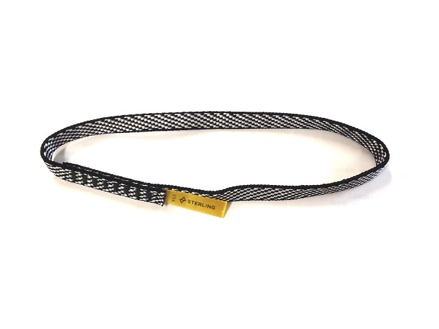 テープスリング ダイニーマ 25cm ブラック スターリン社