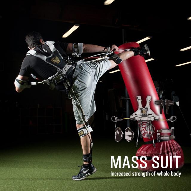 マススーツ MASSSUIT★全身筋力トレーニング器具★世界初!巨人の星のようなトレーニング器具