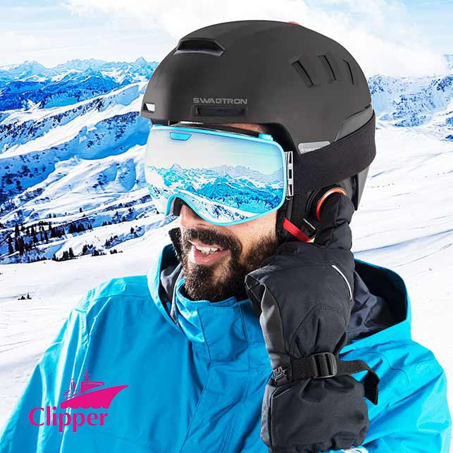送料無料 SWAGTRON社 SNOWTIDE スマートヘルメット ワンプッシュ/ハンズフリー通話 SOSアラートシステム 音楽もスマホと連動