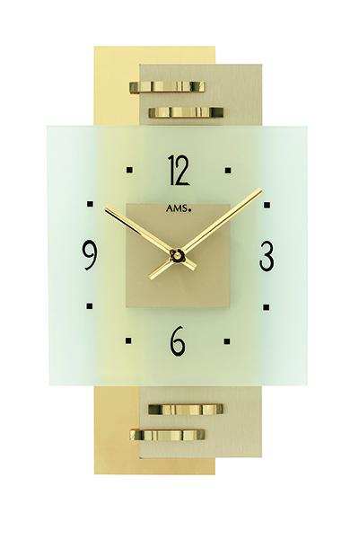 モダンなデザイン掛け時計(3色)AMS9241