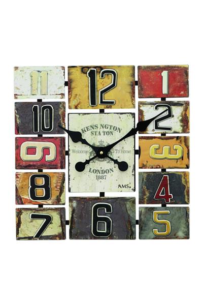 おしゃれなカントリー調インテリア掛け時計。AMS9425