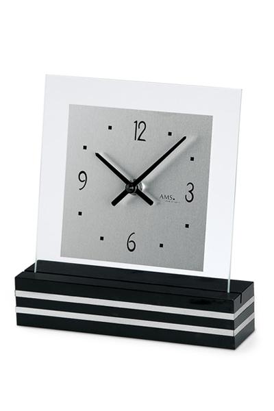 モダンなデザイン置き時計。特別なギフトにもふさわしい置き時計(3色)AMS1108