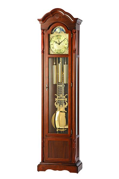 クラシック伝統的な高級機械式フロアークロック。AMS2011-1