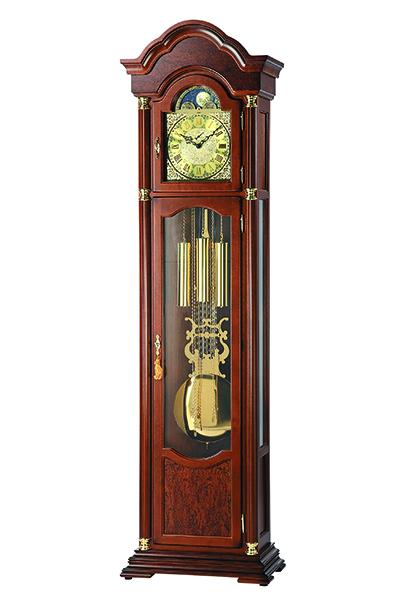 クラシック伝統的な機械式高級フロアークロック。AMS2063-1
