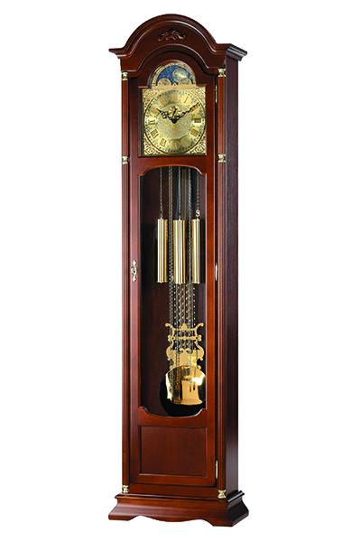 クラシック伝統的な高級機械式フロアークロック。AMS2097-1