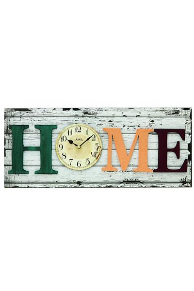 おしゃれなカントリー調インテリア掛け時計(HOME)。AMS9428