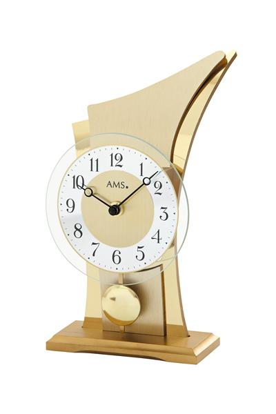 スタイリッシュなデザイン置き時計。AMS1137