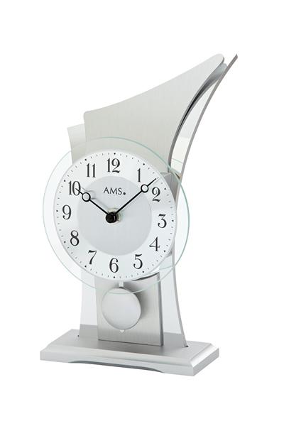 スタイリッシュなデザイン置き時計。AMS1138