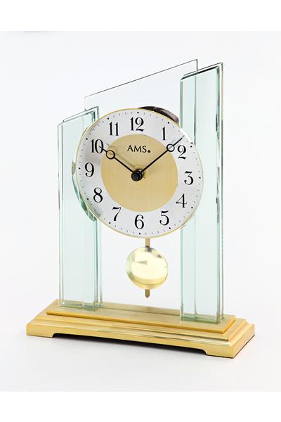 シンプルなデザイン置き時計。AMS1167